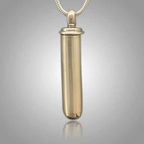 Large Cylinder Cremation Jewelry