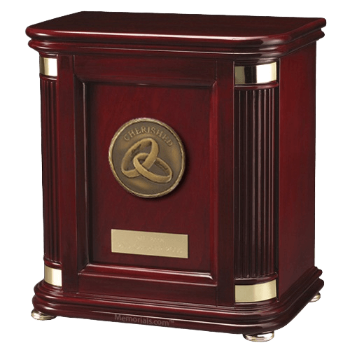 Laudation Marriage Wood Cremation Urn