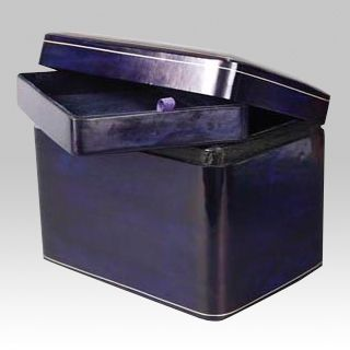 Leather Square Scattering Cremation Urn