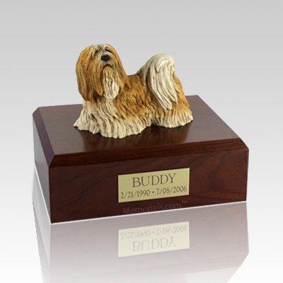 Lhasa Apso Standing Dog Urns