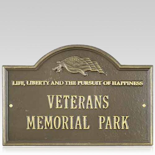 Liberty Dedication Plaque