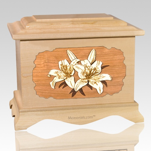 Lily Maple Cremation Urn