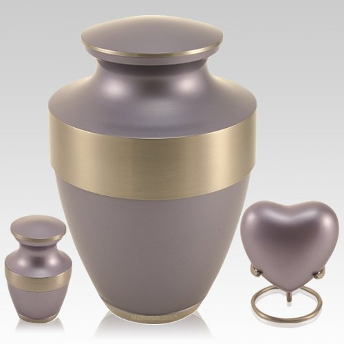 Lineas Periwinkle Cremation Urns