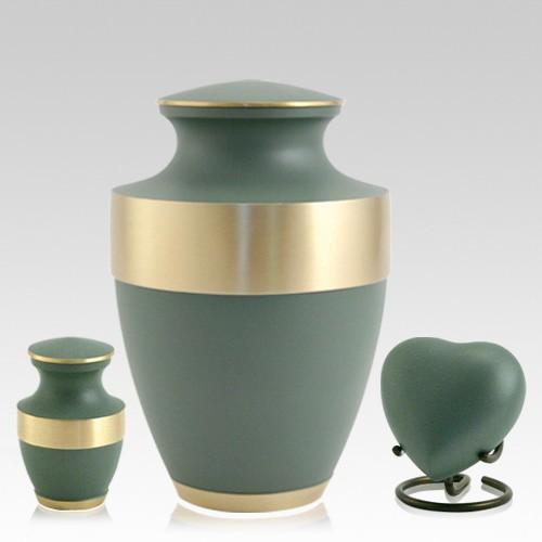 Lineas Sage Cremation Urns