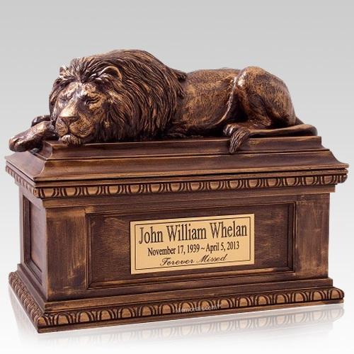 Unique Lion Urns