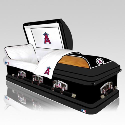 Los Angeles Angels Casket