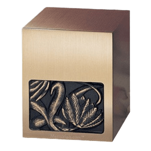 Lotus Bronze Cremation Urn