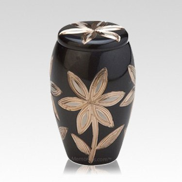 Lovely Lilies Infant Cremation Urn