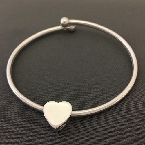 Loyal Heart Ash Cremation Bracelet