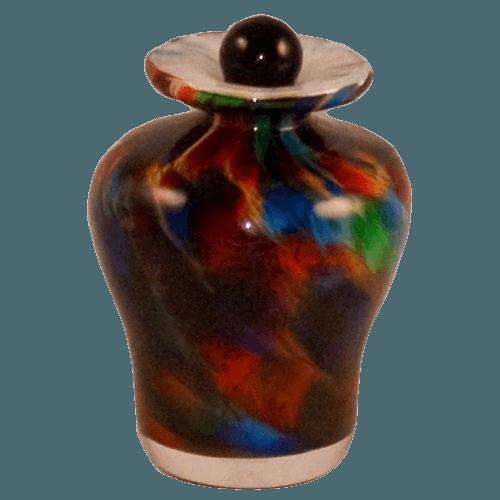 Luminous Glass Keepsake Urn