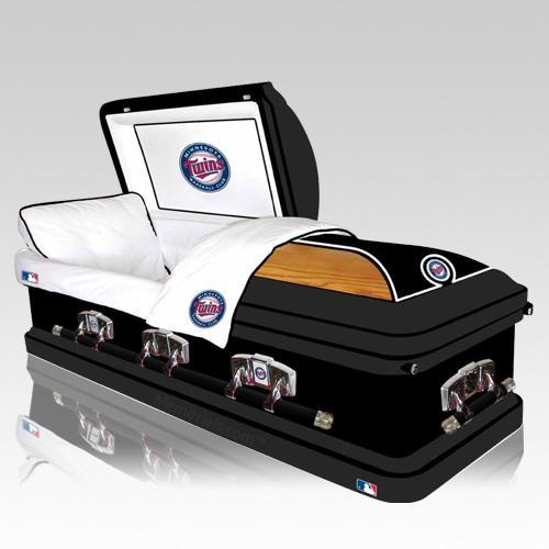 Minnesota Twins Casket