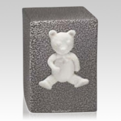 Marble Teddy Child Urn