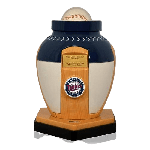 Minnesota Twins Baseball Cremation Urn