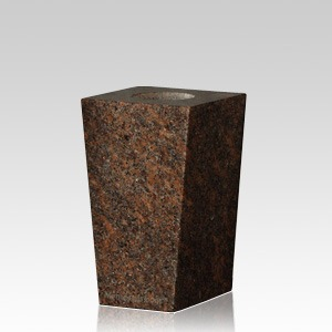 India Red Modern Granite Vase