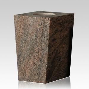 Mystic Blue Modern Granite Vase