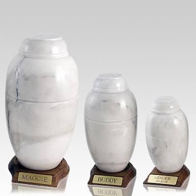 Moonlit Marble Pet Urns