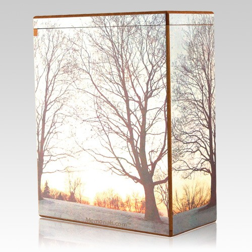 Morning Mist Cremation Urn