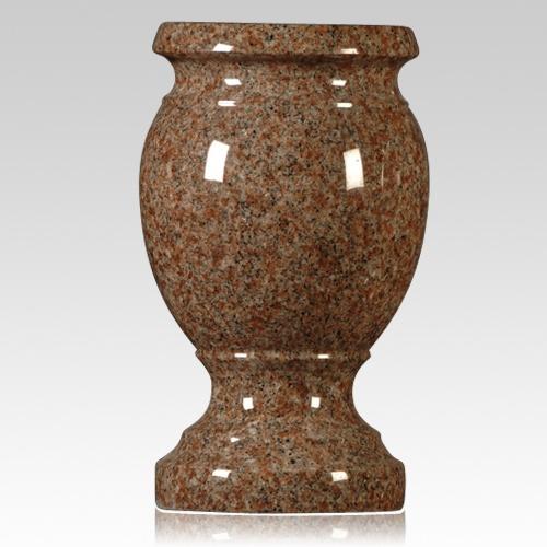 Morning Rose Granite Vase