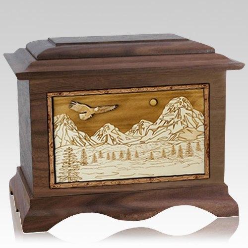 Mount Splendor Wood Cremation Urns