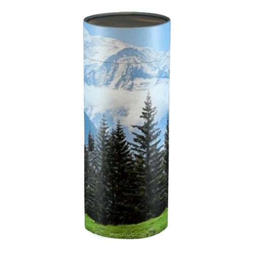 Mountain Scattering Small Biodegradble Urn
