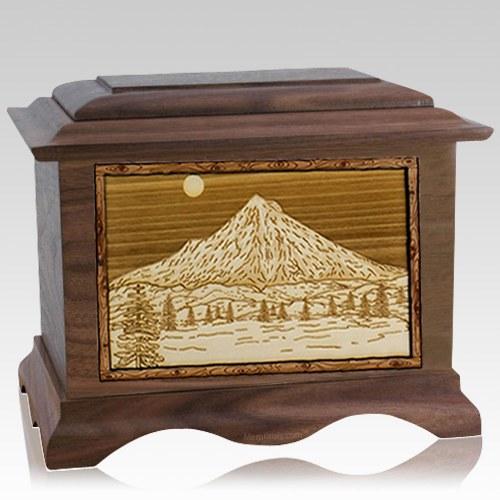 Mt Hood Wood Cremation Urns
