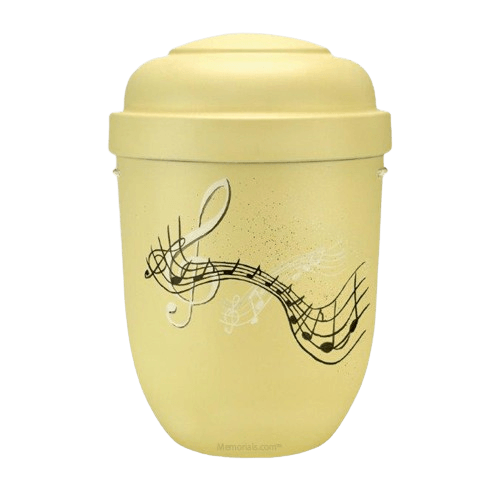 Music Biodegradable Urn