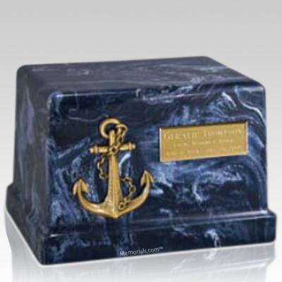 Nautical Anchor Cremation Urn