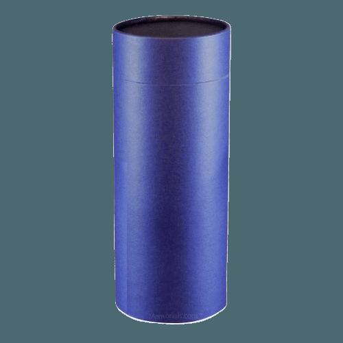 Navy Scattering Small Biodegradble Urn