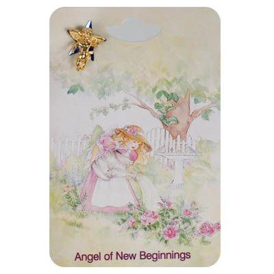 New Beginnings Angel Lapel Pins
