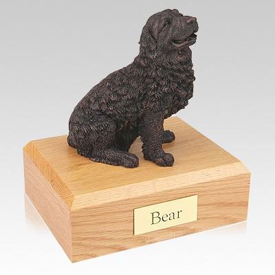 Newfoundland Bronze Dog Urns