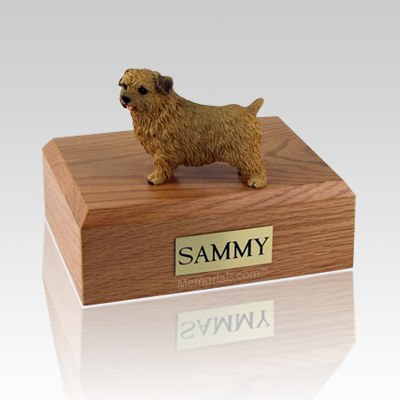 Norfolk Terrier Large Dog Urn