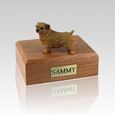 Norfolk Terrier Medium Dog Urn