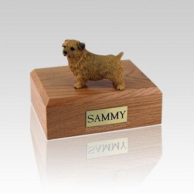 Norfolk Terrier Small Dog Urn