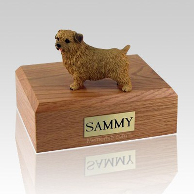 Norfolk Terrier X Large Dog Urn
