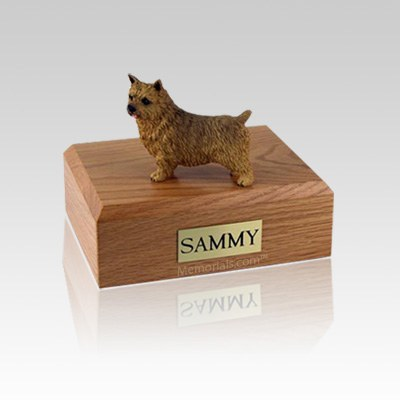 Norwich Terrier Small Dog Urn