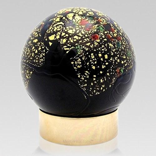 Nouveau Glass Child Cremation Urn