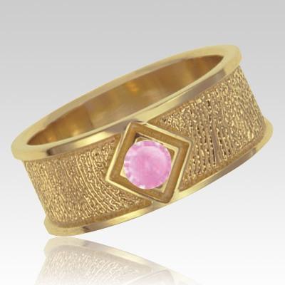 October Birthstone 14k Yellow Gold Ring Print Keepsake