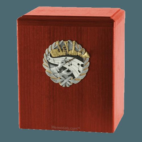 Orchestra Cherry Cremation Urn