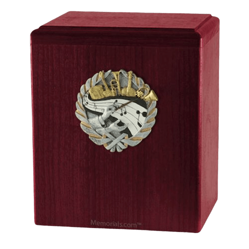 Orchestra Rosewood Cremation Urn