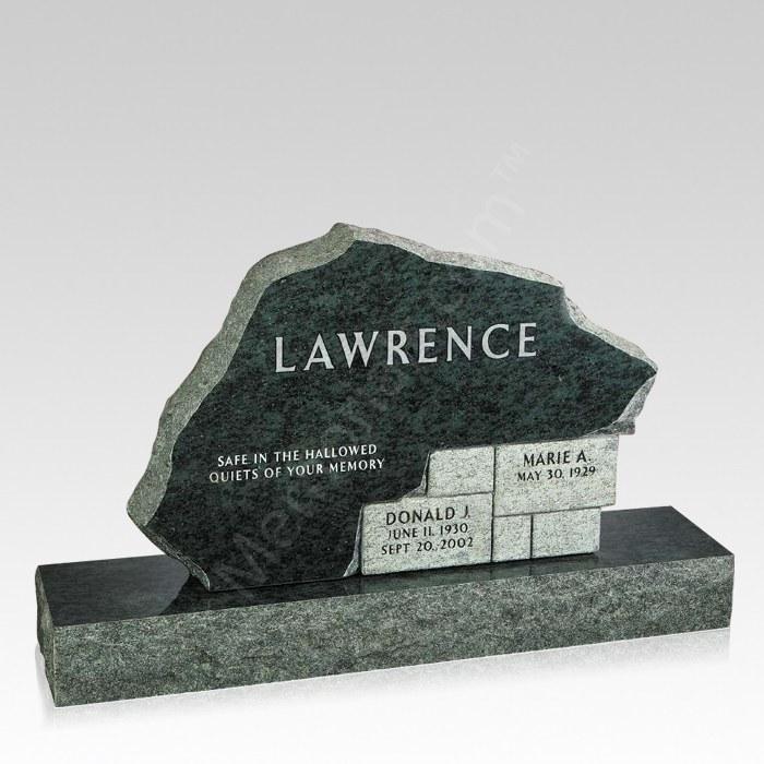 Our Home Companion Granite Headstone