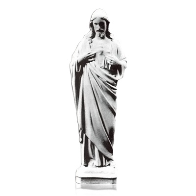Our Lords Prayer Marble Statues