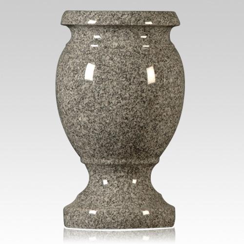 Oxford Gray Granite Vase