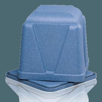 Dignity Blue Cremation Urn Vault