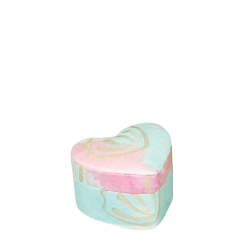 Pastel Unity Small Biodegradable Urn