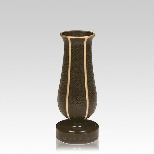 Grave Marker Vases Bronze Plastic Vases For Cemetery Headstones