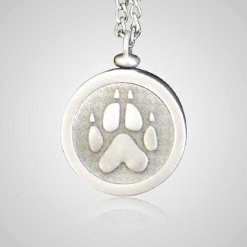 Paw Pet Memory Keychain