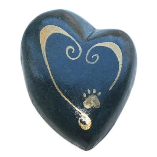 Paw on My Heart Pet Keepsake Urn