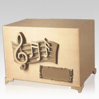 Peaceful Tune Cremation Urn