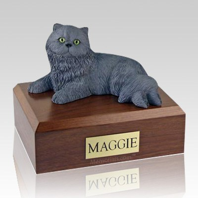 Persian Grey X Large Cat Cremation Urn