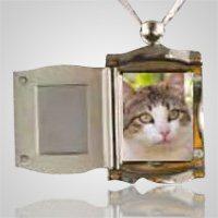Pet Silver Picture Pendant